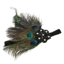 Women's 1920s Flapper Feather Headband 20s Party Headpiece Accessories