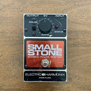 Electro-Harmonix Small Stone EH4800 Phase Shifter Phaser Pedal
