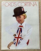 1969 Ford Cortina original American sales brochure (1)
