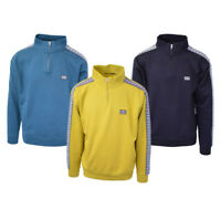 Obey Men's Bridges L/S 1/4 Zip Mock Neck Pullover (Retail $75)