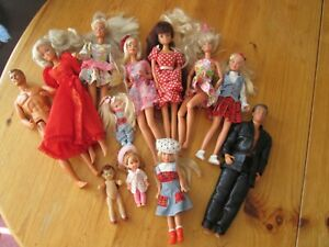 Barbie,Cindy, Ken and Other Dolls Collection