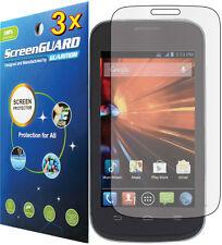 3x Clear LCD Screen Protector Guard (T-Mobile/MetroPCS)  ZTE Concord II 2 Z730