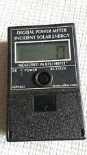 EDTM Digital Power Meter Incident Solar Energy #SP1065, BTU/HR *FT2