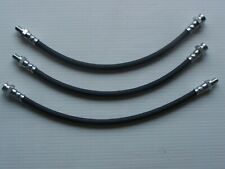 NEW BRAKE HOSE SET FRONT AND REAR FITS EJ & EH HOLDEN WITH ORIGINAL DRUM BRAKES