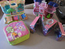 Fisher Price Sweet Streets Mansion / Dollhouse / Polly pocket Bag/ Fashion Polly