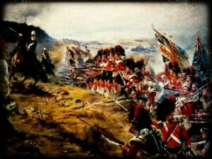 The 42nd Highlanders At The Battle Of Alma PrintCrimean War Print.