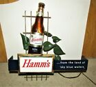 HAMMS beer 1950's lighted 3-D BOTTLE sign  ***RARE***