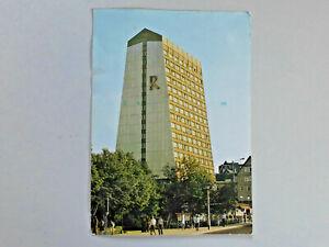 """AK Ansichtskarte DDR Oberhof Hotel """"Rennsteig"""" 1978 ?  gelaufen"""