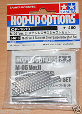 Tamiya 54613 M-05 Ver. II en Acier Inoxydable Suspension Shaft Set (M-05V.2/M05V2)