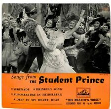 "Mario Lanza - Songs From ""The Student Prince"" - 7"" Record Single"