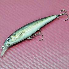 GALLEGGIANTE IMMERSIONE Spina Minnow Lure Duro Esca CRANK BAIT Fishing Tackle 10cm 12g