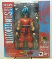 S.H.Figuarts Super Saiyan God Son GoKou BLUE DragonBall Variable Action Figure
