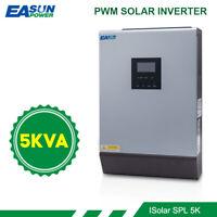 5KVA 48V 220v Pure Sine Wave Solar Inverter Built-in 50A PWM Solar Charger
