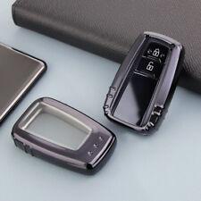 *Smart Key Case Cover Fob Holder For Toyota Camry CHR Prius Avalon RAV4 Corolla*