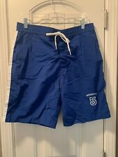 New listing United Colors of Benetton Swim Shorts Trunks Royal Blue NWOT Large UK L 34