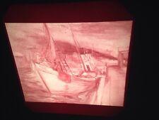 "Franz Kline ""Boats 1941"" Abstract Expressionism 35mm Art Slide"