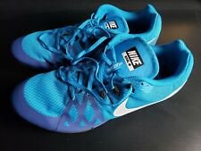 New Nike Zoom Rival M8 Track & Field Sprint Spikes 806555-414 Blue Size 13