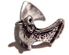 HUGGING BAT RING cute vampire gothic finger cuff wrap wings halloween goth V3