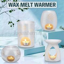 Ceramic Aromatherapy Candle Holder Wax Melt Warmer Essential Oil Burner