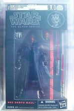 "Star Wars Black Series 6"" Darth Maul AFA 9.0 U 90 Uncirculated RARE MISB NEW US"