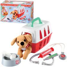Ecoiffier Tierarztkoffer mit Hund Arztkoffer Tierarzt Spielzeug Plüschhund NEU