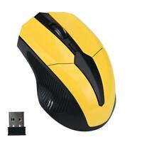 2.4GHz Mic Optical Mouse Cordless USB Receiver PC Computer Wireless for Laptop❤