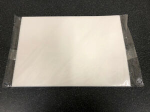 24 A4 sheets - White - EDIBLE vanilla wafer rice PAPER for toppers & decorations