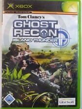 !!! XBOX CLASSIC Gioco Tom Clancy 's Ghost Recon Island, usati ma ben!!!