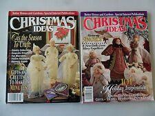 Christmas Ideas Better Homes & Gardens 1992 & 1994 Angels Decor Gift Ideas