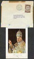 POPE JOHN XXIII VATICAN  PHOTO  & 1963  COVER
