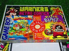 Wario land Wario blast Twin pack nintendo game boy pal uk RARE