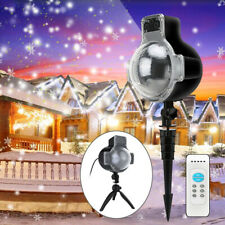 Led snow scene Light waterproof Projector snowflakes outdoor lighting Projection