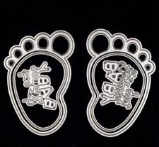 Baby Feet metal dies - for use in most cutting systems!