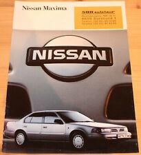 Prospekt Nissan Maxima 1990