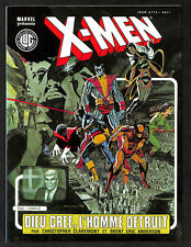 LES ÉTRANGES X-MEN N° 3- NEUF -1995 G/F- DIEU CRÉE L'HOMME -FDP 0€  LE 2È VOL ,,