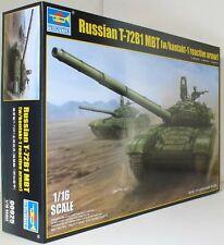 Trumpeter 1:16 00925 Russian T-72B/B1 MBT (w/Kontakt-1 R/Armo Military Model Kit