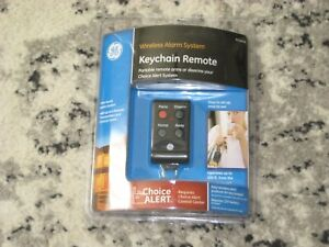 GE Wireless Alarm System Keychain Remote 45144