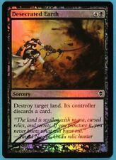 Desecrated Earth FOIL Zendikar NM Common Artist Signed CARD (s4702) ABUGames