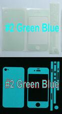 iPhone 4 * Matte * Glow in the Dark Full Body Skin sticker  ( Stronger Glow )