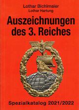 Bichlmaier Hartung Bewertungskatalog Auszeichnungen Orden des 3. Reiches 2021/22