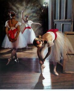 "Douglas Hofmann ""Red Sash"" Hand Signed Lithograph Ballerina  US Artist"
