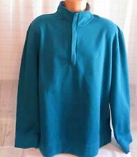 Nautica Men Pullover Size 2XL 1/4 Zip Long Sleeve