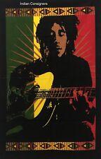 Fan Bob Marley Twin Tapestry Guitar Love Bedding Sheet Wall Hanging Bedspread