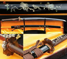 Hand Craft Japanese Samurai Katana Full Tang 9260 Spring Steel Blade Noble Sword