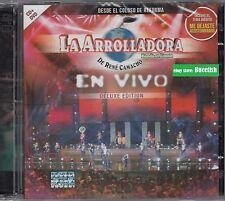 La Arrolladora Banda el Limon de Rene Camacho En Vivo Deluxe Edition CD+DVD New