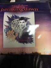 Twilight Movie Breaking Dawn Part 1 Jacob Fleece Throw Blanket New