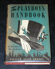 Book The Playboy's Handbook In Defense of the Bachelor William Allan Brooks 1942