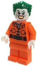 LEGO DC Comics Batman Minifigure Joker Orange Prison Suit from 10937
