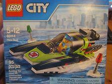 LEGO City 60114 New Race Boat 95 pcs Mini Figures Sealed Racer Speed
