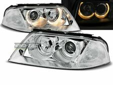 Headlights for VW PASSAT 3BG B5 FL 00-05 Angel Eyes Chrome UK RHD/LHD LPVW33-ED